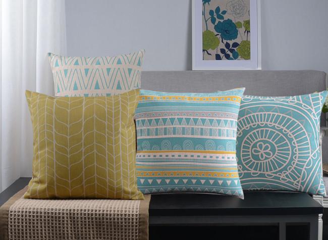 Free Shipping Pristine Natural Linen Decorative Cushion <font><b>Home</b></font> Comfort Throw Cushions Simple <font><b>Elegant</b></font> Cushions <font><b>Home</b></font> <font><b>Decor</b></font> Wholesale