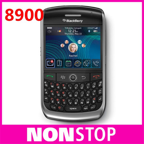 8900 Original BlackBerry 8900 Curve Unlocked Mobile Phone Free Shipping(China (Mainland))