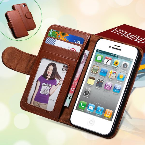 Гаджет  For iPhone 5 5S PU Leather Case High Quality Stand Wallet Flip Mobile Phone Case Cover For Apple iPhone 5 5S Luxury 1pcs/lot RCD None Телефоны и Телекоммуникации