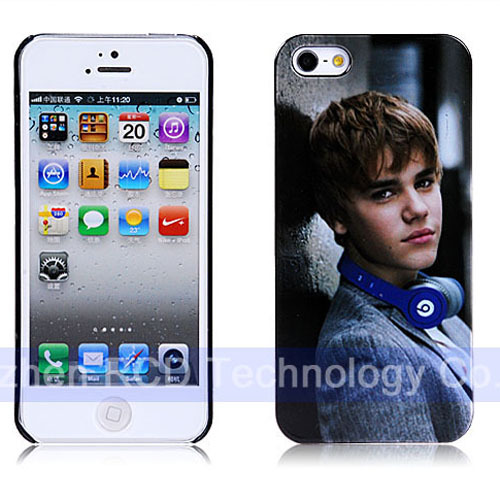 Big Discount! Super Star One Direction Justin Bieber Music Durable Mobile Phone Case for iPhone 5 5S Plastic Protection Cover(China (Mainland))