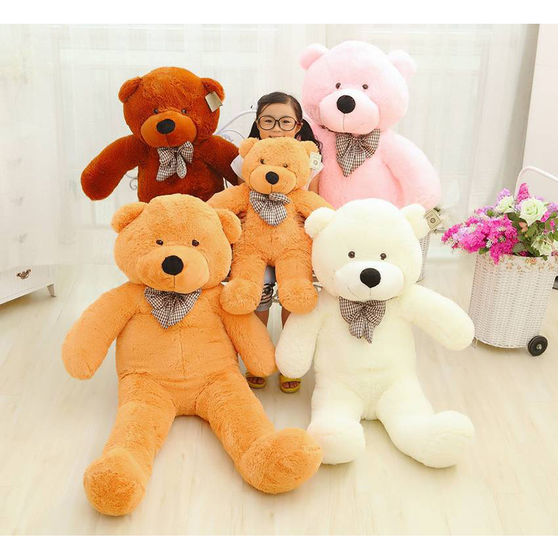 80cm Teddy Bear Stuffed Animals Toys Plush Doll, Giant Stuffed Colorful Bear Plush Toy For Girl Friend/Children(China (Mainland))