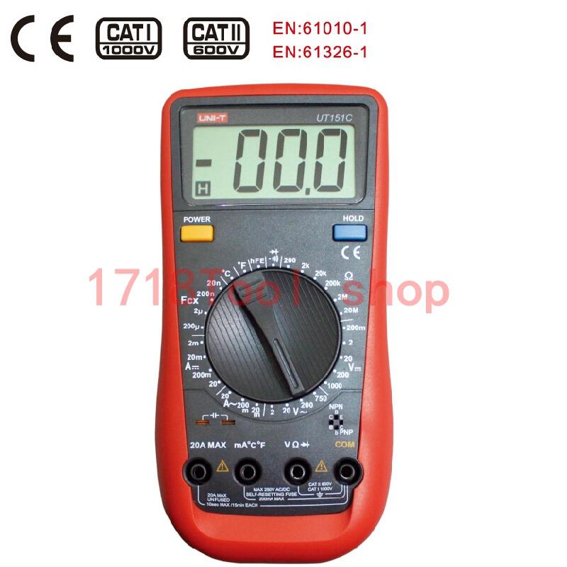 UT151C High Reliability Handheld Digital Multimeter<br><br>Aliexpress