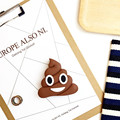 New Design 2000mah Poops Emoji Power bank Battery Portable Cute Cartoon Phone Battery Charger For All Mobile Phone