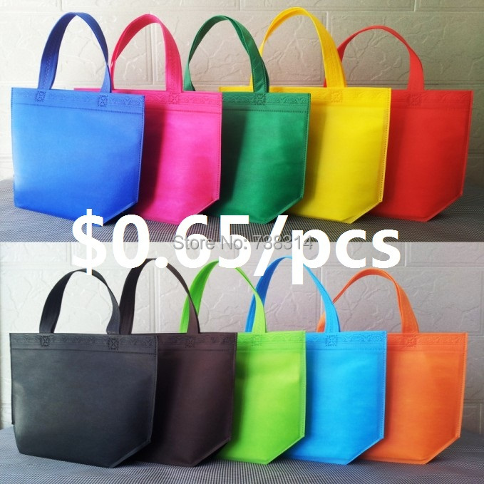 Bag non-woven eco-friendly bag customize tote shopping logo - Shopping bags`s Supermarket store