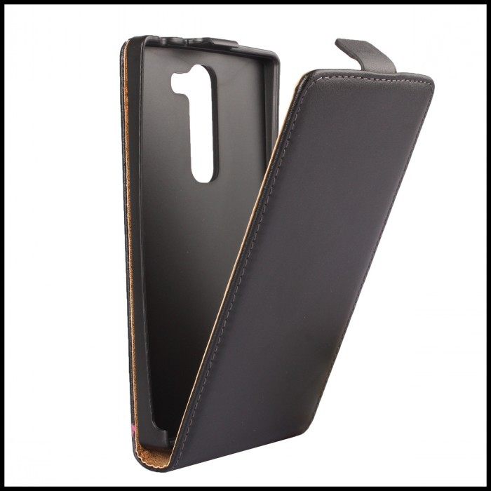 For LG Magna Case Simple Business Genuine Leather Magnetic Flip Phone Cover For LG Magna C90