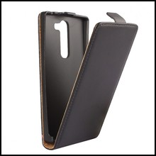 For LG Magna Case Simple Business Genuine Leather Magnetic Flip Phone Cover For LG Magna C90 H520N H502F H500F