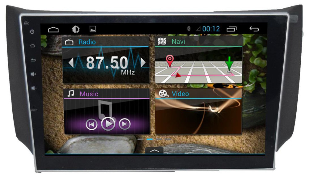 10.1 inch HD 1024*600 screen Android 4.4 Car DVD GPS for Nissan New SYLPHY / B17 with Navigation Radio RDS Stereo Wifi 3G DVR(China (Mainland))