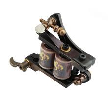 Profossional Carved 12 Coils Copper Tattoo Equipment Tattoo Machine Gun(China (Mainland))