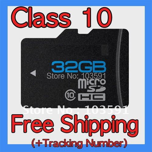 Brand NEW Full 16GB 32GB 64GB MICRO SD CLASS 10 MICROSD TF FLASH MEMORY CARD with Adapter in retail package Gift