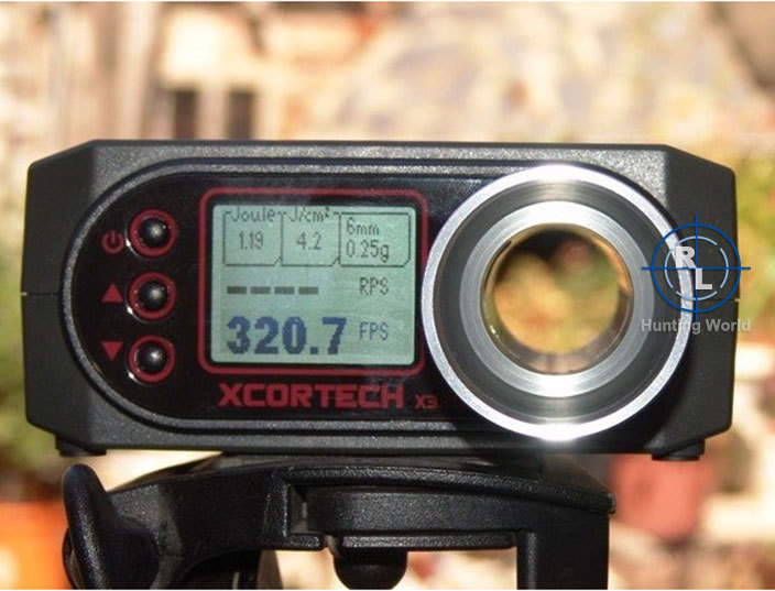 High tech Speed Tester X3200 High Power Airsoft BB Shooting Chronograph 7 0001