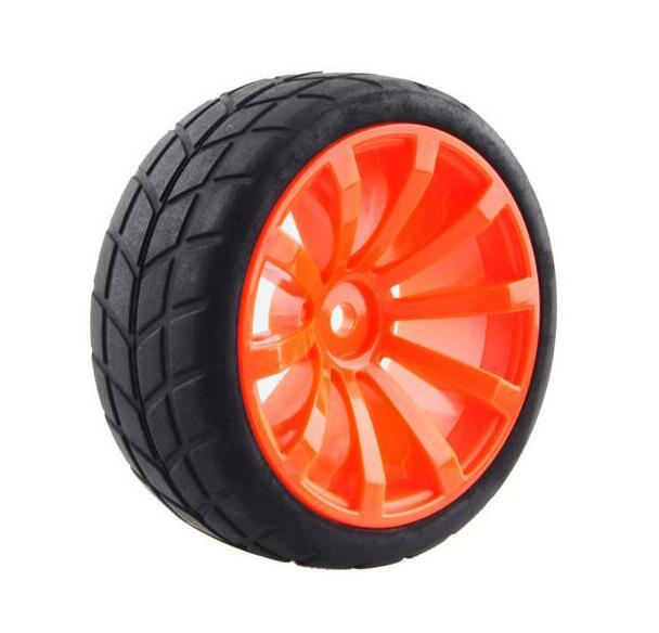 4pcs 1/10 tire for On Road Car Drift Car HSP94122/94123/94103 Heng long 3850/3851 KYOSHO FW06 TAMIYA / CS 1/10 on road car wheel(China (Mainland))