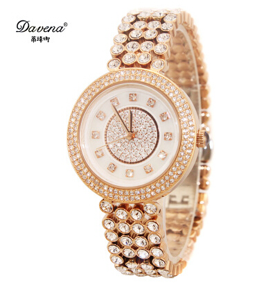 Здесь можно купить  Fashion tony large dial watch casual diamond chain belt ladies watch table fashion table quartz wristwatch  Часы