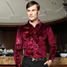 Men's Shirts British Style Long-Sleeve Shirts Male Slim Casual Clothes Men's Dress Shirt Free Shipping(China (Mainland))