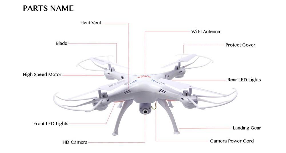 Hot! Original SYMA X5SW FPV Quadcopter WIFI RC Drone with