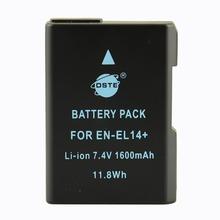 DSTE EN-EL14 Rechargeable Battery For Nikon D3100 D3200 D5100 D5200 DF P7000 P7100 P7200  P7700 P7800 Digital Camera