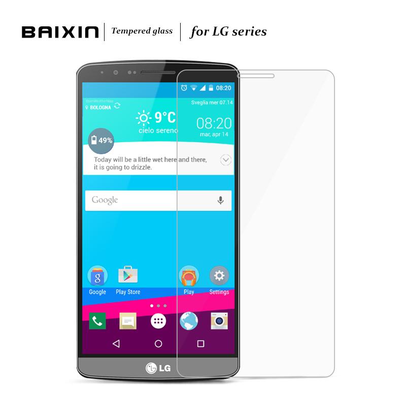 Baixin Tempered Glass Screen Protector For LG G2 mini G3 mini G4mini Spirit V10 Google Nexus5 Explosion-proof Protective Film(China (Mainland))