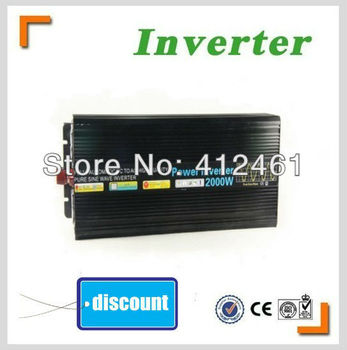 Modified Sine Wave power inverter 3000w peak 6000W DC 12V to 230V free shipping