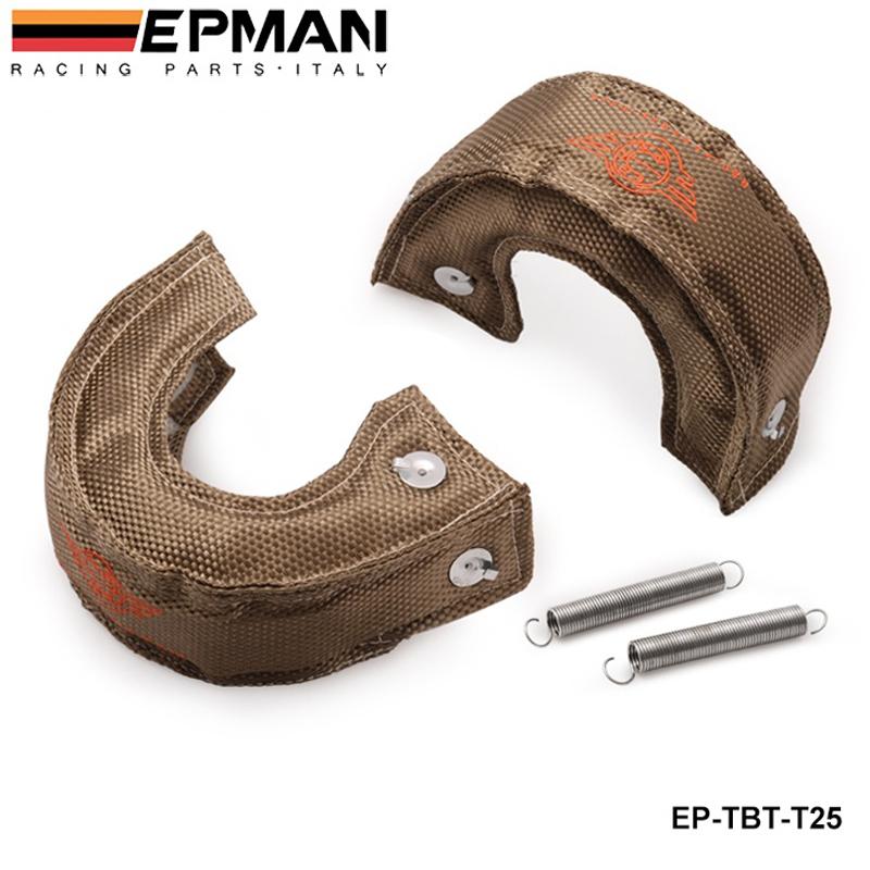 EPMAN - H Q T25/T28 GT25 GT28 GT30 GT35 TURBO/TURBOCHARGER TITANIUM HEAT SHIELD/WRAP BLANKET EP-TBT-T25<br><br>Aliexpress