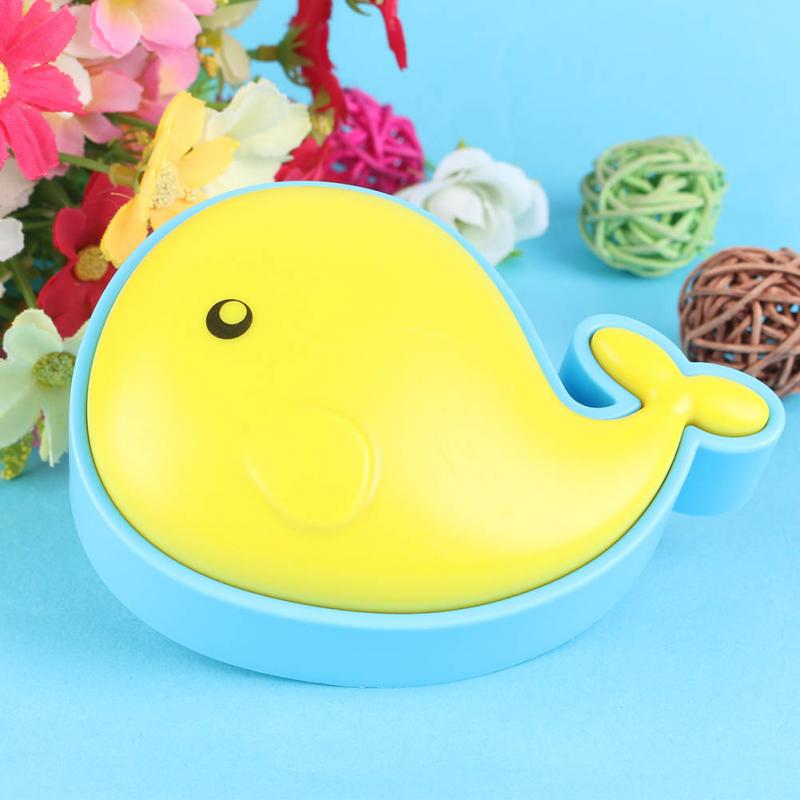 Induction LED Small Night Light LED Optical Small Light Lamp New Small Whale Shape Night Light<br><br>Aliexpress