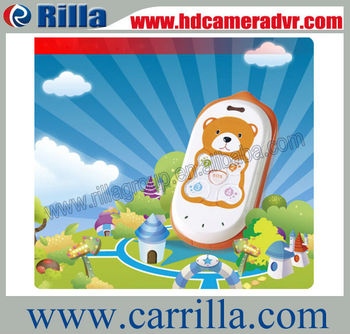 Free Shipping child Pet Human elder Bear mould 2-way talking Kid  mini gps tracker (GK301)