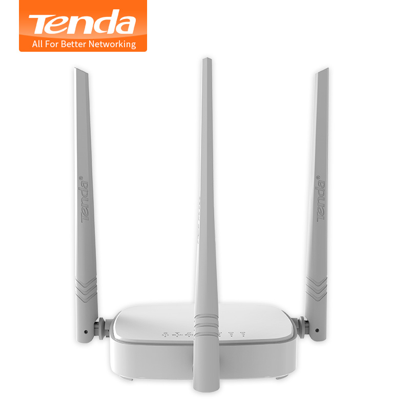 Tenda N318 300Mbps Wireless WiFi Router Wi-Fi Repeater,Multi Language Firmware,Router/WISP/Repeater/AP model,1WAN+3LAN RJ45 Port(China (Mainland))