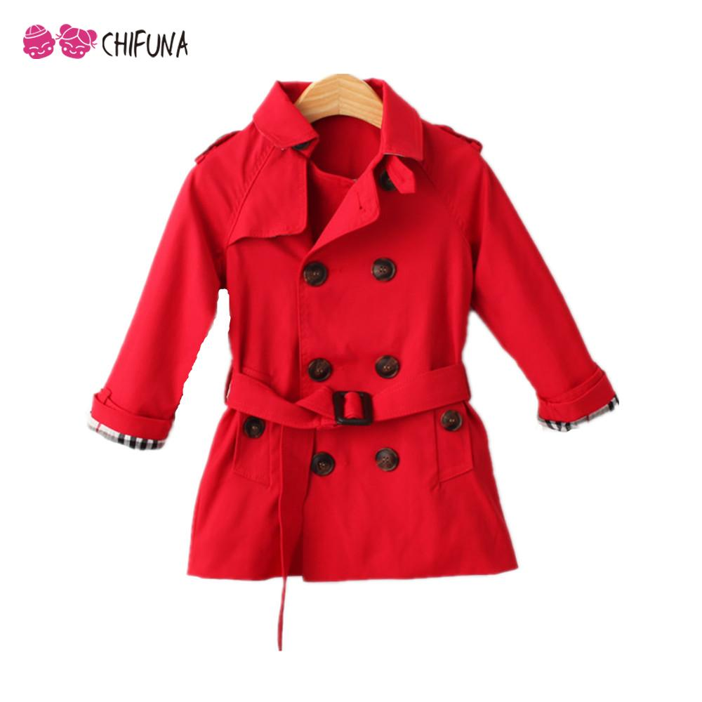 New 2016 Spring Autumn Baby Girl Clothes Double Breasted Coat Baby Boy Clothes Long Sleeved Outwear Kids Boys Girls Coat(China (Mainland))