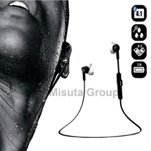 Bluedio Wireless 4.1 Bluetooth Earphones and Headphone Stereo Music Sport Running Headset Ecouteur with Mic For Samsung Phones(Hong Kong)