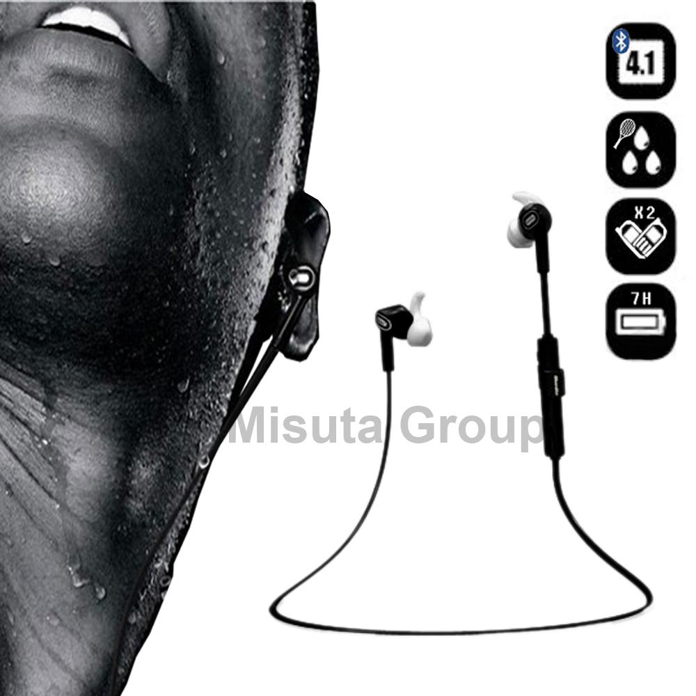Original Bluedio Wireless Bluetooth 4.1 Headset Earphone Stereo Music Bluetooth Sport Headphone with Mic For All Smart Phone(Hong Kong)