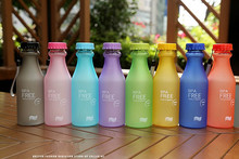 New 2014 Unbreakable Sport Travel Water Bottle Portable Leak-proof Cycling Camping Cup