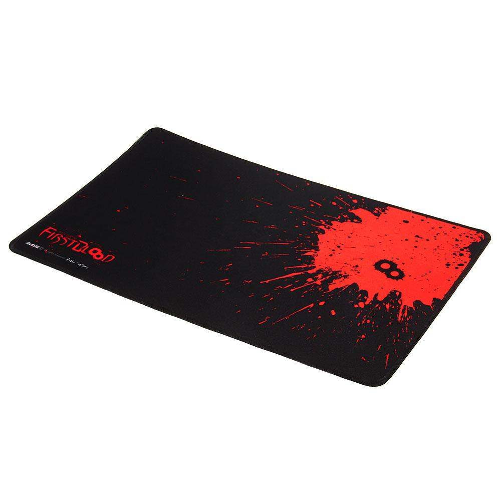 Rubber Mouse Mice Pad Mousepad Game Black for PC Laptop(China (Mainland))
