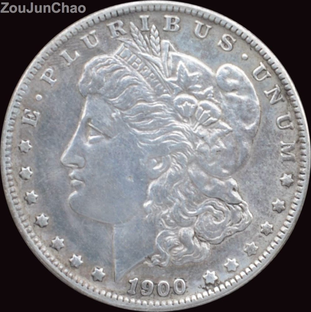 United States 1900-S Morgan One Dollar Coins 90% Silver High Quality Copy Coin(China (Mainland))