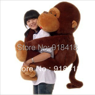 80cm Animals toy long arm monkey big chimpanzees black gold just baboon dolls dolls dolls holiday gift of gifts for children<br><br>Aliexpress