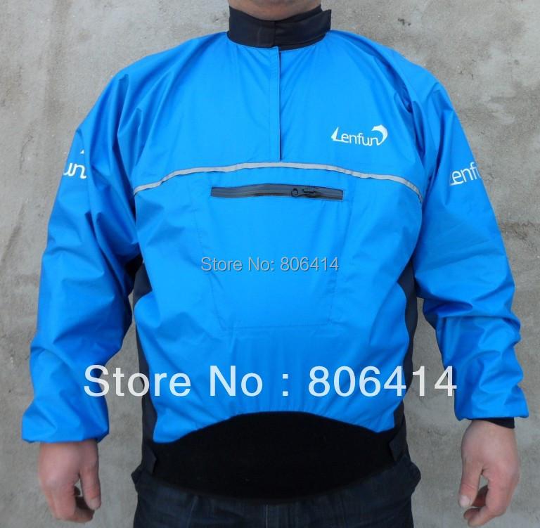 UNISEX waterproof paddle spray semi-dry jacket tops for kayak caneo,sailing fishing surfing paddling windsurfing,kitesurfing(China (Mainland))