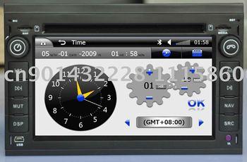 6.2 inch Special car dvd fro PASSAT / PEUGEOT307