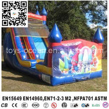 Factory cheap wizard combo inflatable slide bounce house rentals for sale inflatable turtle slide(China (Mainland))