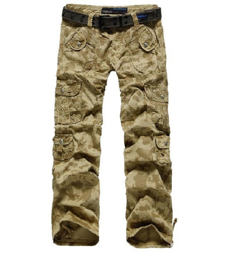 Popular Womens Army Military Camouflage Cargo Combat Pants Boyfriend Jeans