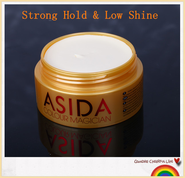 New products for men hair wax modeling fashion hair clay wax freeshipping*(China (Mainland))