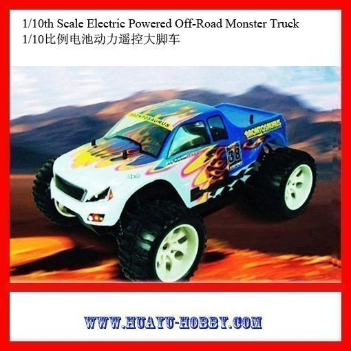 RC Car rc Toys radio control car new &amp; hot 1/10th Scale Electric Powered Off-Road Monster Truck 94111<br><br>Aliexpress