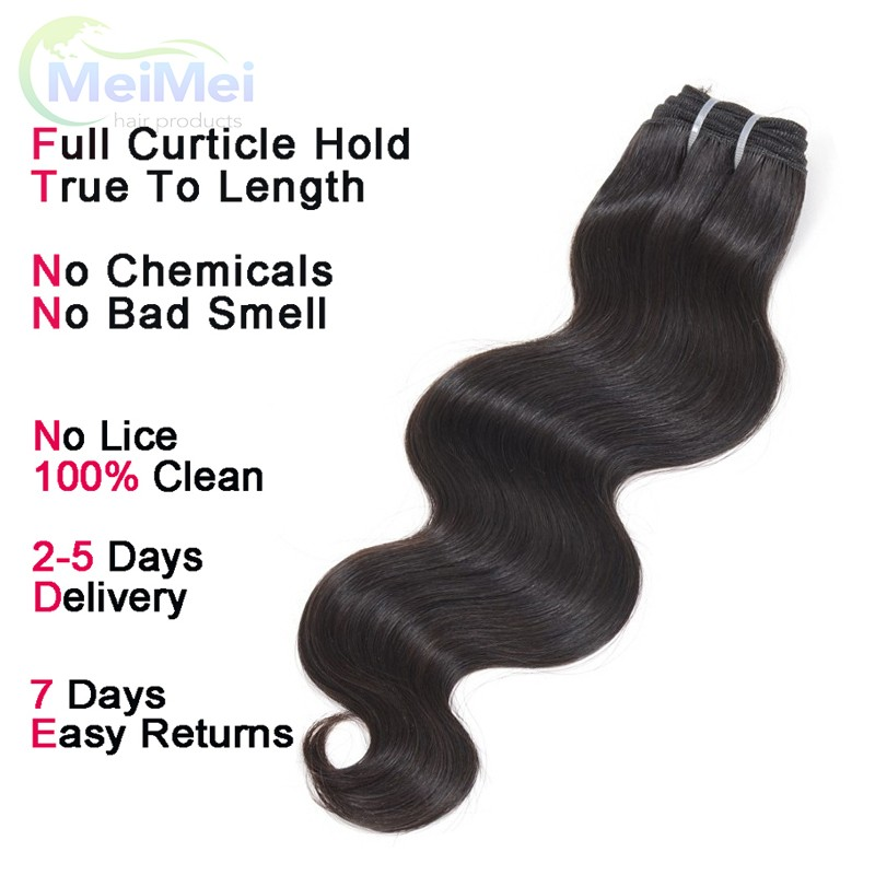 12 Inch 7A Rosa Hair Malaysian Body Wave Virgin Hair 3 Pcs 1B Malaysian Human Hair Weave Bundles Tissage Bresilienne Coupons