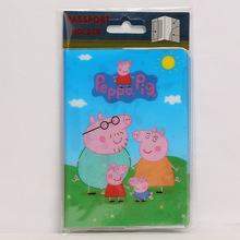 Buy Europe Cartoon Style 2D Passport Holder PVC Passport Cover Case Travel,14*9.6cm Card & ID Holders Mini Order 1pcs-Peppa Pig for $1.61 in AliExpress store