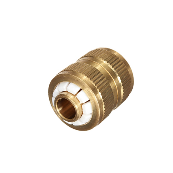 Hot Sale!!! Copper Brass 1/2 Garden Washing Water Hose Pipe Connector Joiner Joint Coupler Hot Sale(China (Mainland))