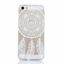 Роскошные хна мандала окрашенные шаблон цветочные пейсли пластиковый чехол кожи коке оболочки для Apple , iphone 5 5S 5 / 5S