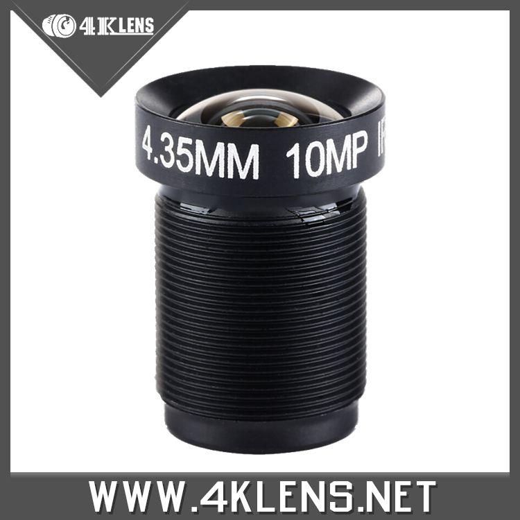 4.35MM Lens With Prined Logo 1/2.3 Inch 10MP IR 72D NON FISHEYE for Gopro Xiaomi Yi SJCAM Camera DJI Phantom Drones Gimbal Newly<br><br>Aliexpress