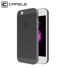 Cafele Ultra-thin Colorful Soft PP Case for iPhone 5C Cases Back Plastic Cover for iPhone 5 5C 5S SE Case Cover(China (Mainland))