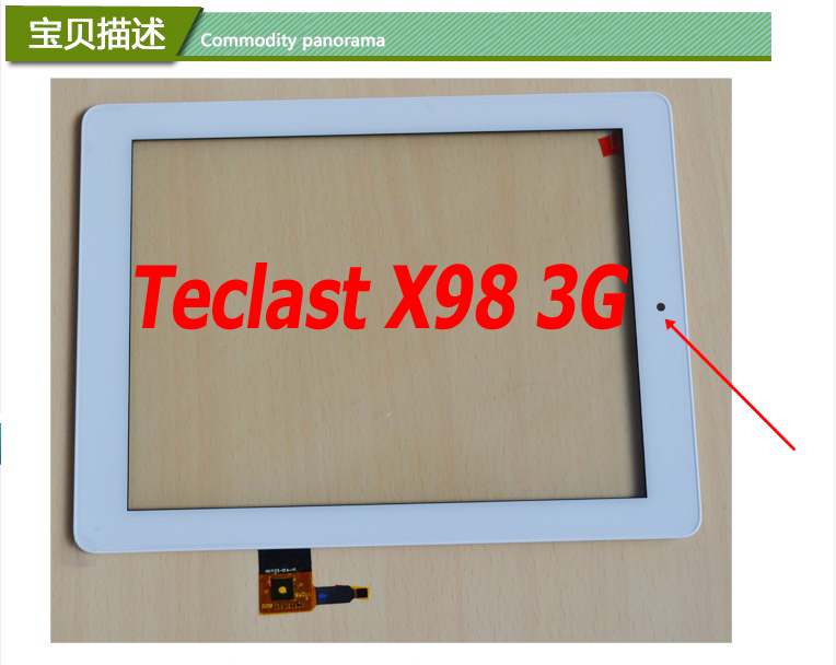 New ORIGINAL Touch Screen for Teclast X98 3G Touchscreen 9.7 Touch Panel Screen Glass with Frame!<br><br>Aliexpress