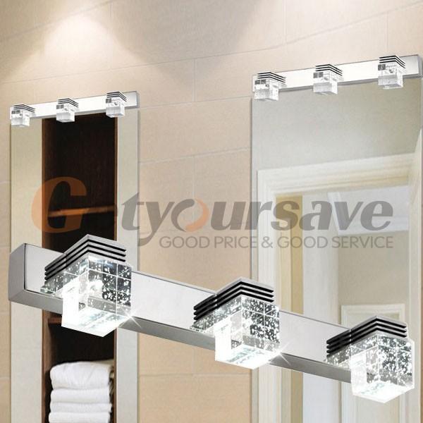 Lámparas De Pared Para Baño:de baño espejo de cristal luces de pared lámparas moda nueva de