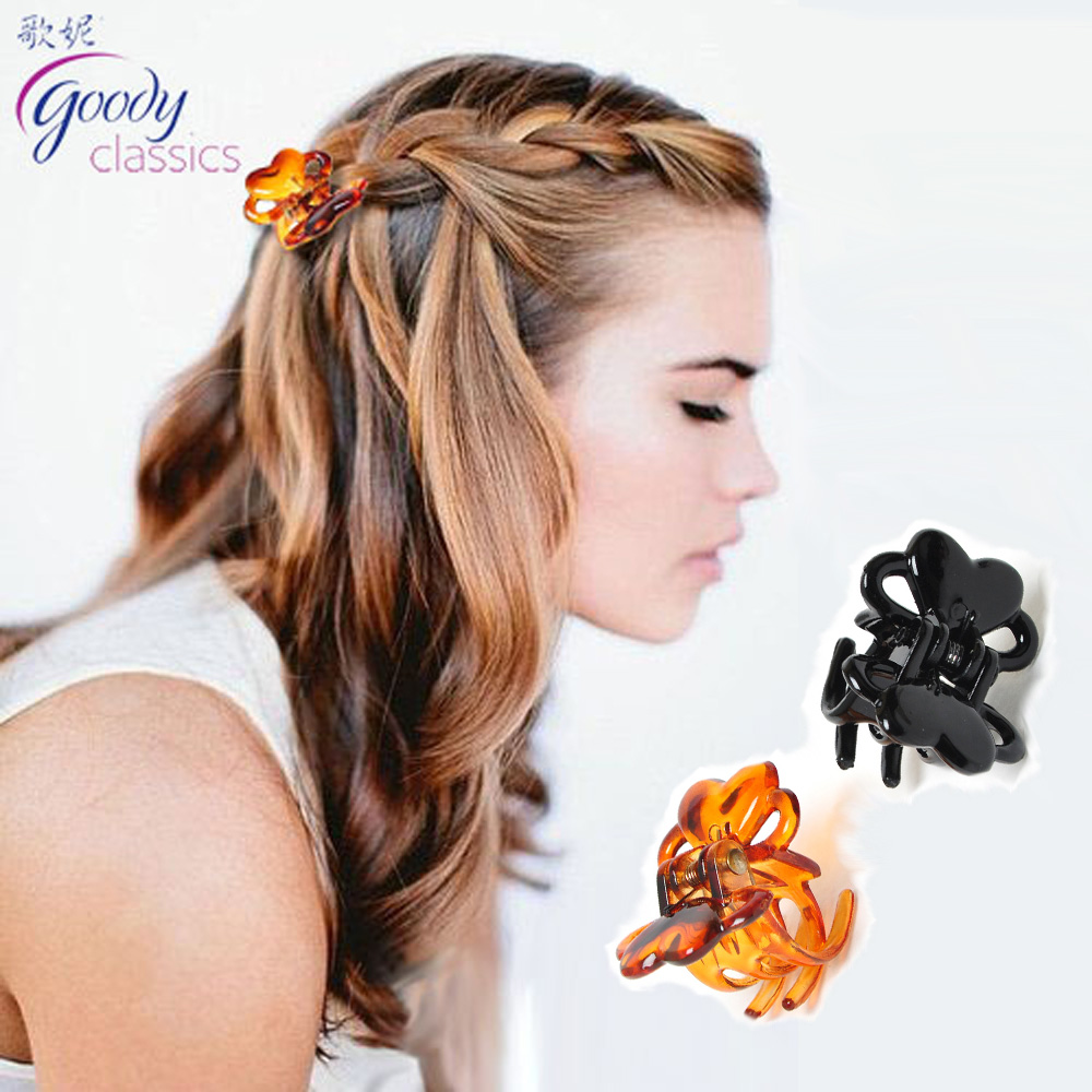 Goody hair accessory small hair caught butterfly hair claw clip acrylic gripper 2(China (Mainland))