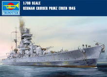 Trumpeter 1/700 Scale German cruiser Prinz Eugen 1945 Static Warship Plastic Assembly Models 05767(China (Mainland))