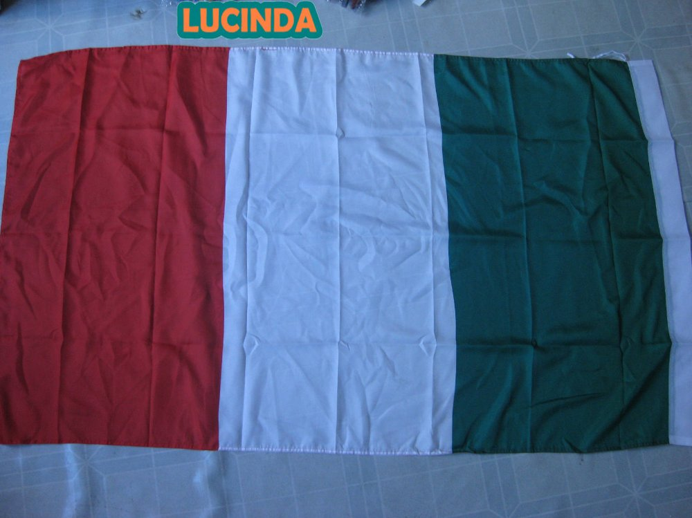 ( 4 ' x 6 ) Italy flag double stitched 125 190 cm - Lucinda store