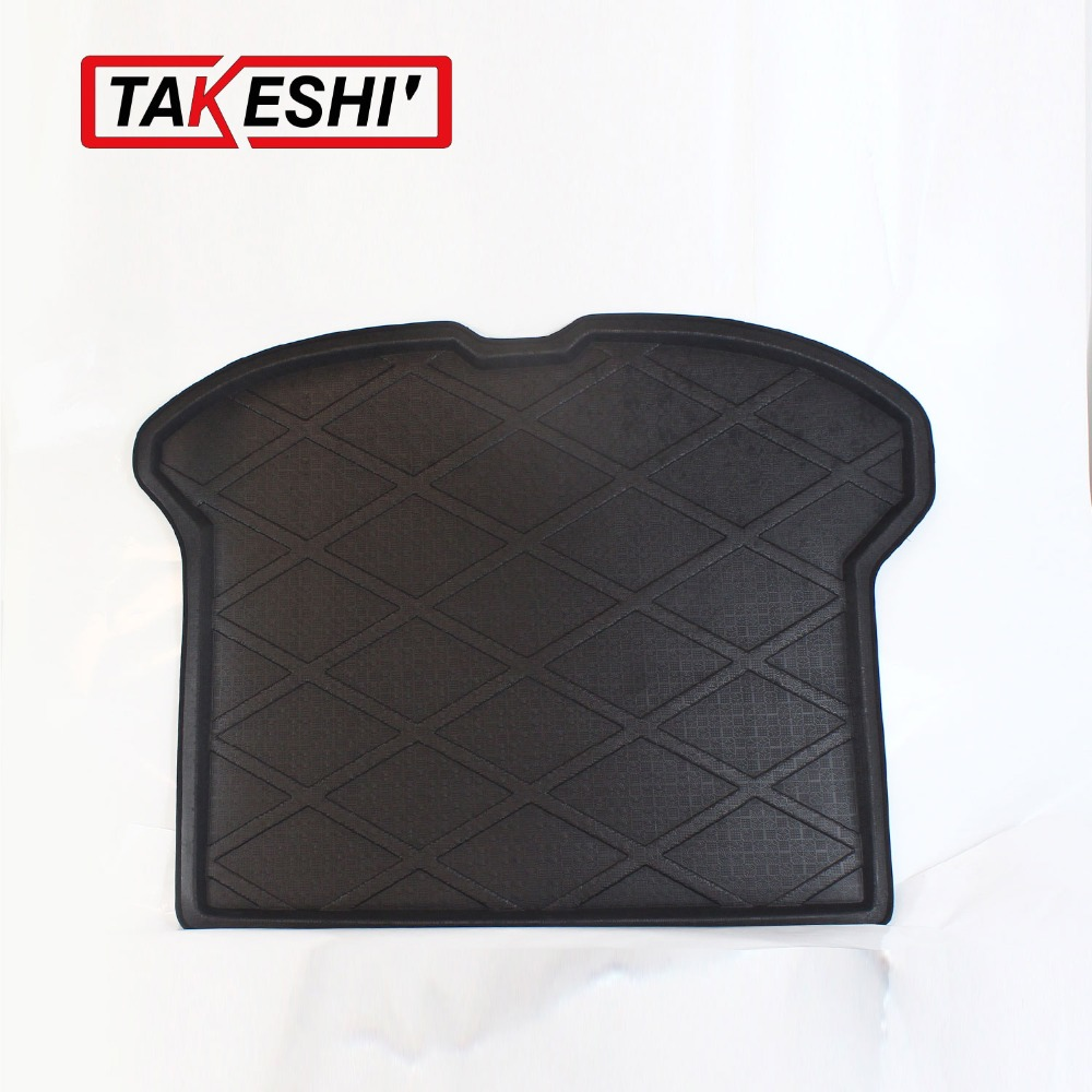Rear Trunk Cargo Mat Boot Liner Suitable Rubber Floor Protector Trunk Tray Mat Anti-Slip Waterproof For Volvo XC60 2003-2013(China (Mainland))